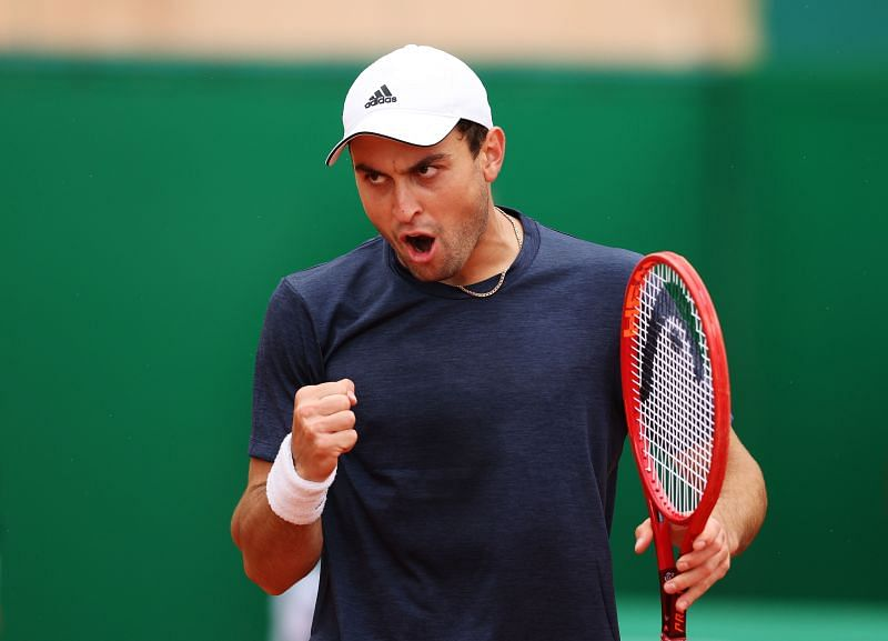 Aslan Karatsev defeated Novak Djokovic 7-5 4-6 6-4 in Belgrade