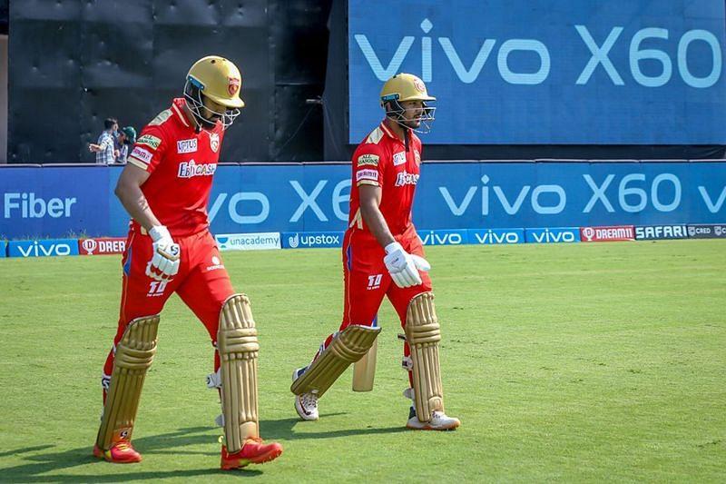 A more sedate KL Rahul (left) looks to be better for PBKS (Image Courtesy: IPLT20.com)