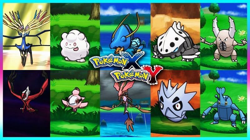 Pokemon X and Y version exclusives (Image via JimGaming HD on YouTube)