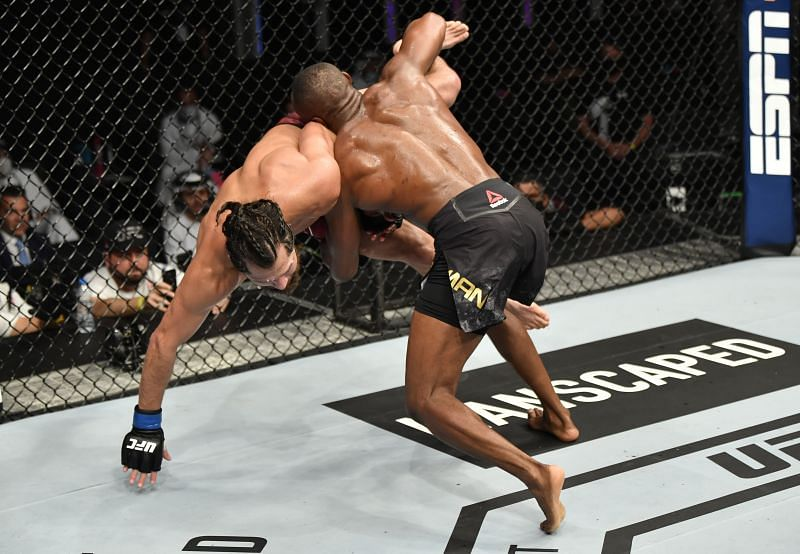 Kamaru Usman had no issues in dealing with Jorge Masvidal on late notice at UFC 251.