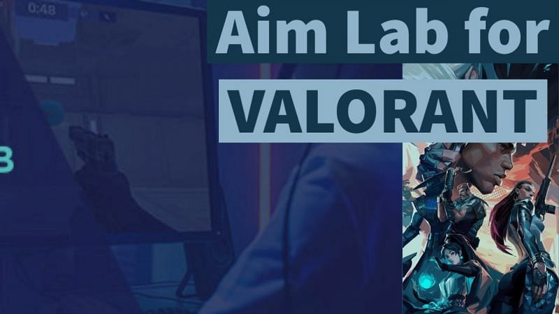 Aim Lab for Valorant [Image Via YouTube/onscreen]