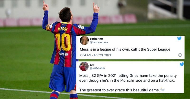 Lionel Messi inspired Barcelona to victory once again
