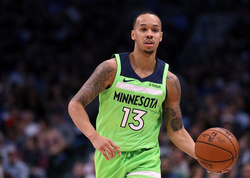 Shabazz Napier during his time with the Minnesota Timberwolves