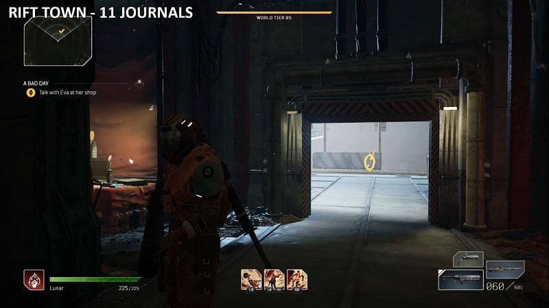 All Outrdiers Journal locations on Rift Town Map (Image via LunarGaming)