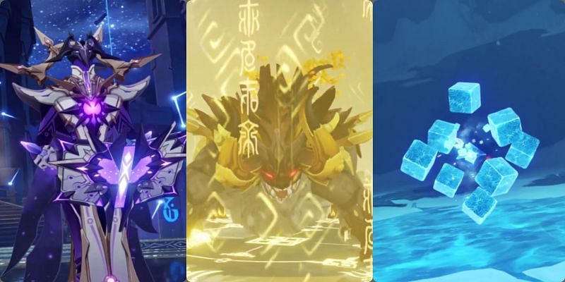 Two new bosses and a new enemy in Genshin Impact 1.5 (Image via miHoYo)