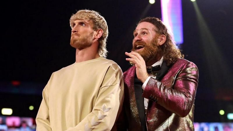 Logan Paul and Sami Zayn
