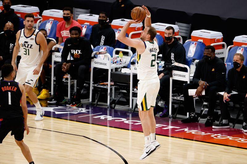 Utah Jazz bench scorer Joe Ingles