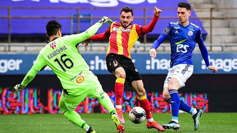 Jonathan Clauss has been in excellent form for Lens in recent weeks