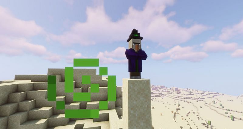A witch cannot spawn in Mushroom Fields (Image via Minecraft)
