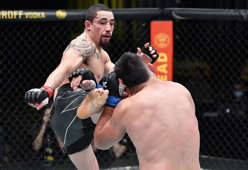 Robert Whittaker could be next in line for a shot at Israel Adesanya