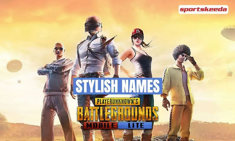 Best stylish names for PUBG Mobile Lite