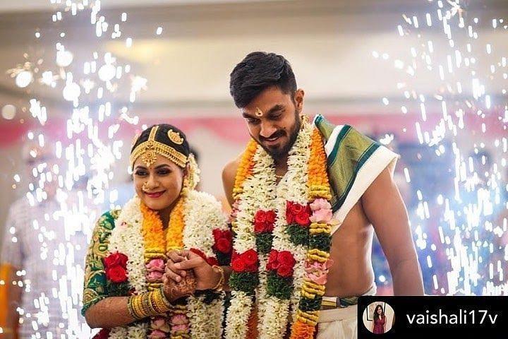 Vijay Shankar's Wedding with Vaishali Visweswaran