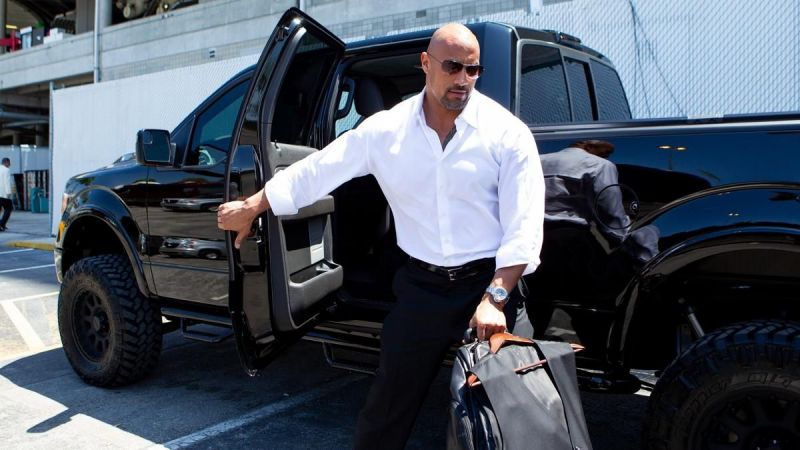 The Rock is an eight-time WWE Champion