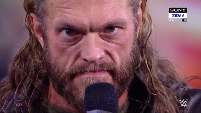 Edge opened SmackDown