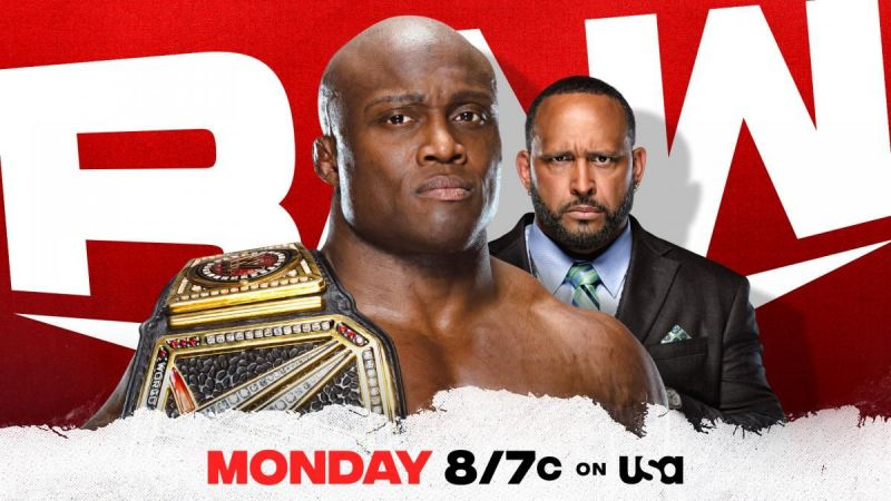 Bobby Lashley is out for dominance on this week