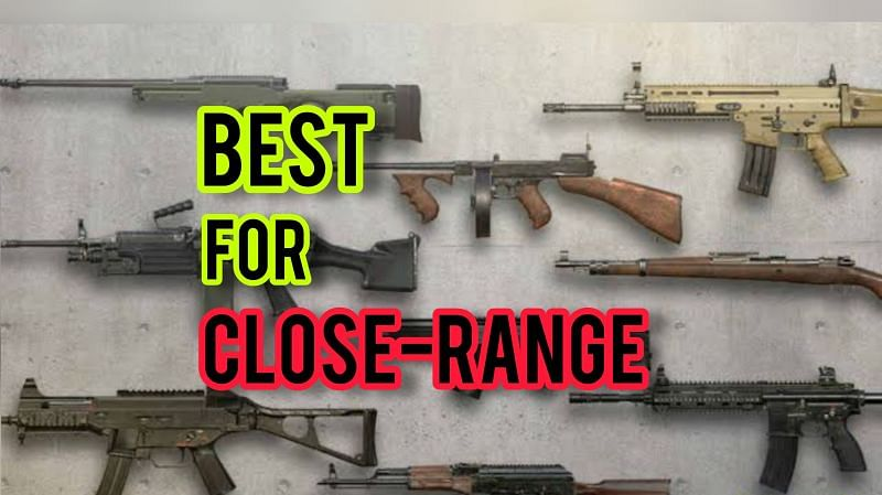 Listing the best weapons for close-range fights in PUBG Mobile Lite