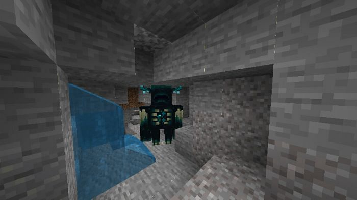 Ominous warden (Image via Minecraft-pocket)