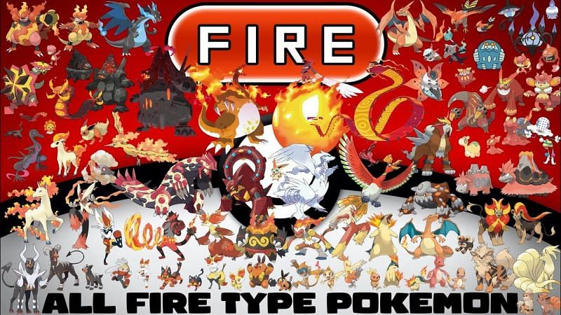 Only three of the five families of Fire-type Pokemon in the Hoenn Pokedex are new as of Generation III (Image via Tom Salazar)