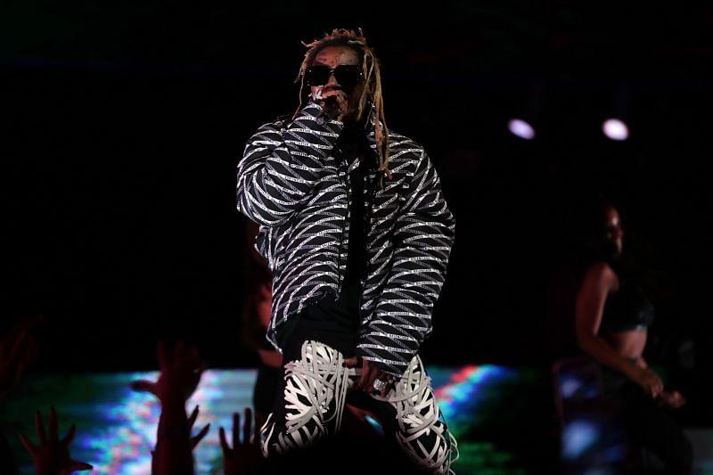 Lil Wayne at the 2020 NBA All-Star - AT&T Slam Dunk (Image via Getty Images)