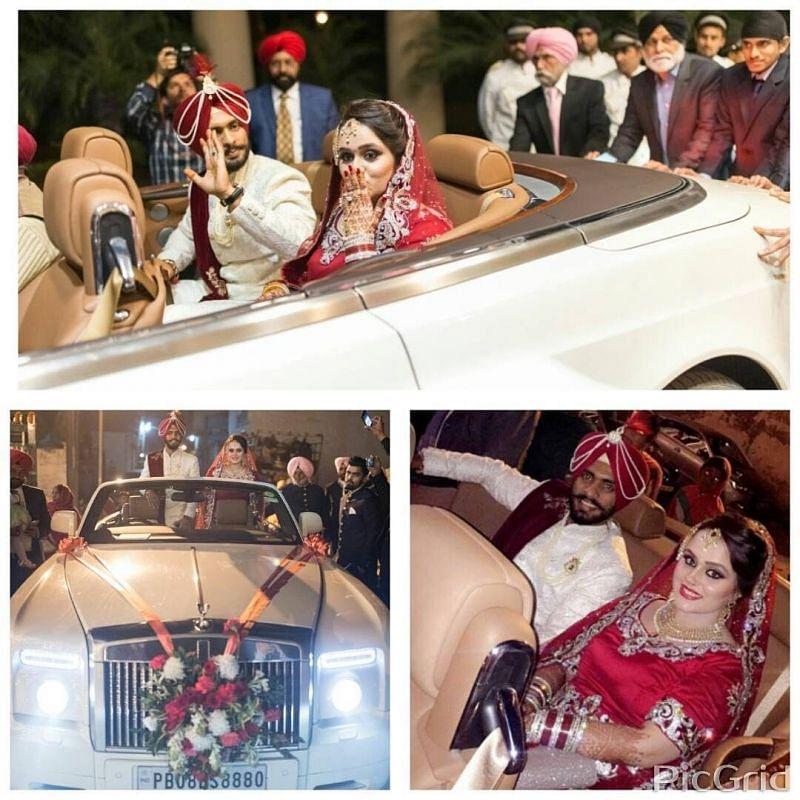 Mandeep Singh's Wedding Ceremony Pics