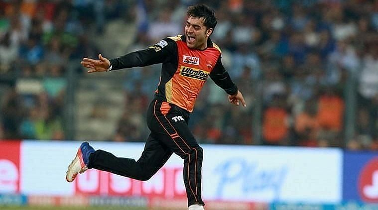 Rashid Khan will be expected to lead the Sunrisers Hyderabad spin-bowling attack