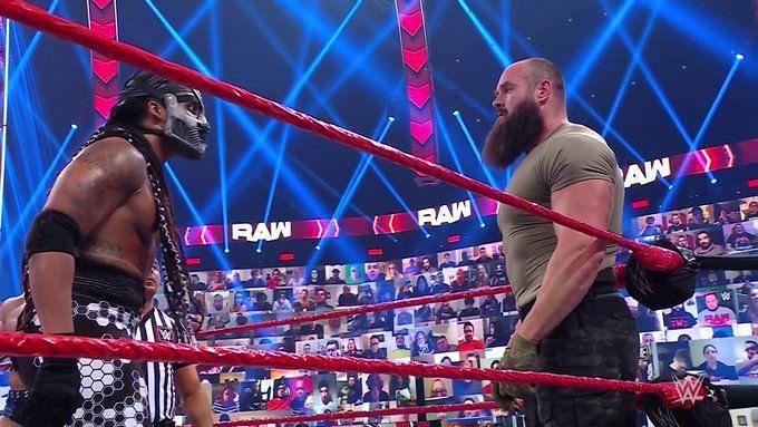 Braun Strowman and Mace on RAW