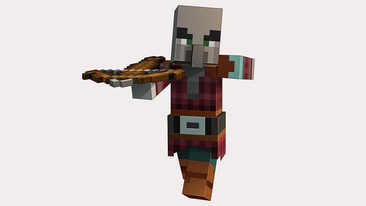 Pillager illustration (Image via Minecraft)
