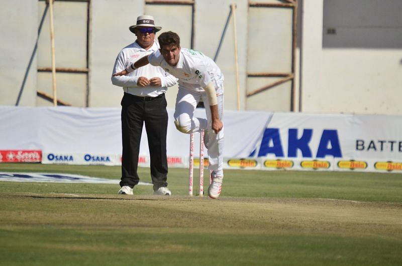 Nauman Ali and Shaheen Afridi create a Test-first in more than 100 years