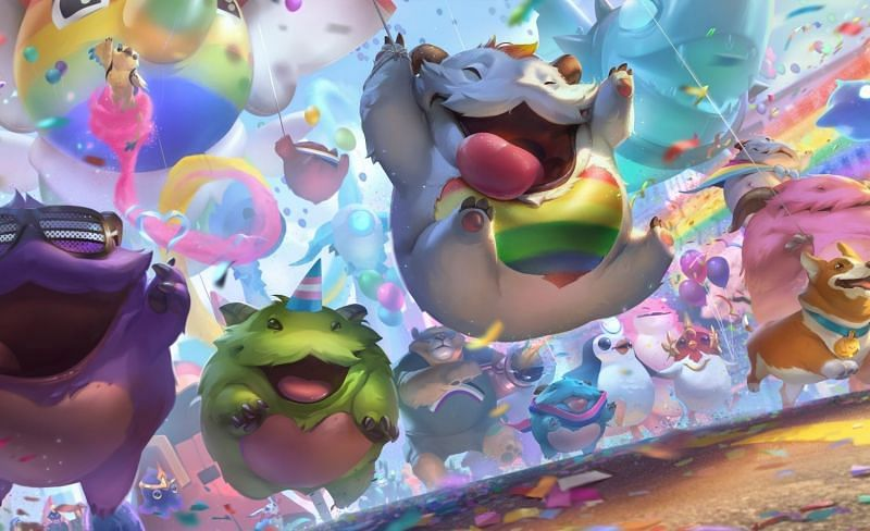 Riot Games' Pride Celebration is now live across all community games of the franchise (Image via Riot Games)