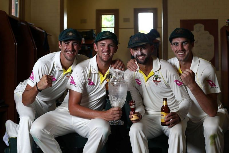 Australia's bowling group finds itself firmly in the crosshairs