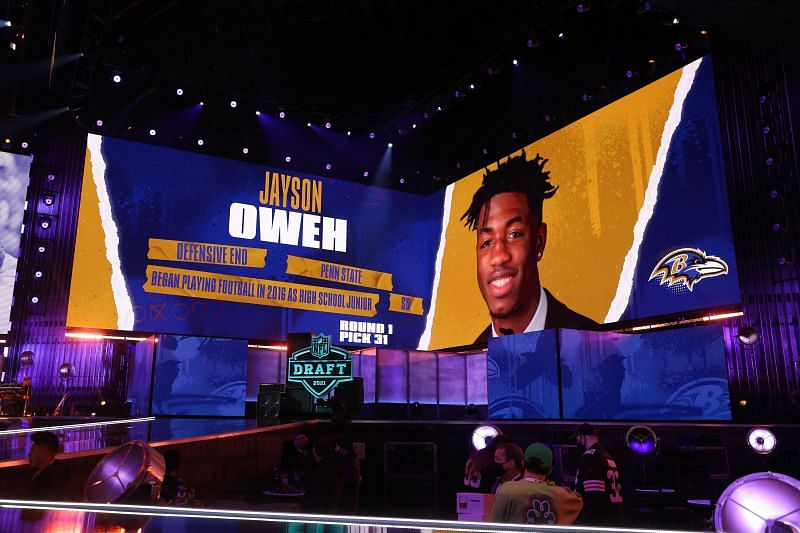 The Baltimore Ravens at the 2021 NFL Draft