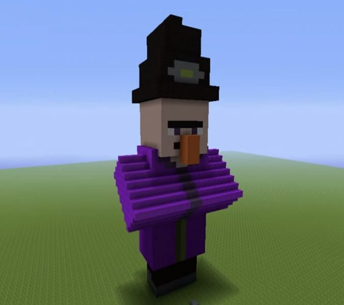 Witch statue (Image via grabcraft)