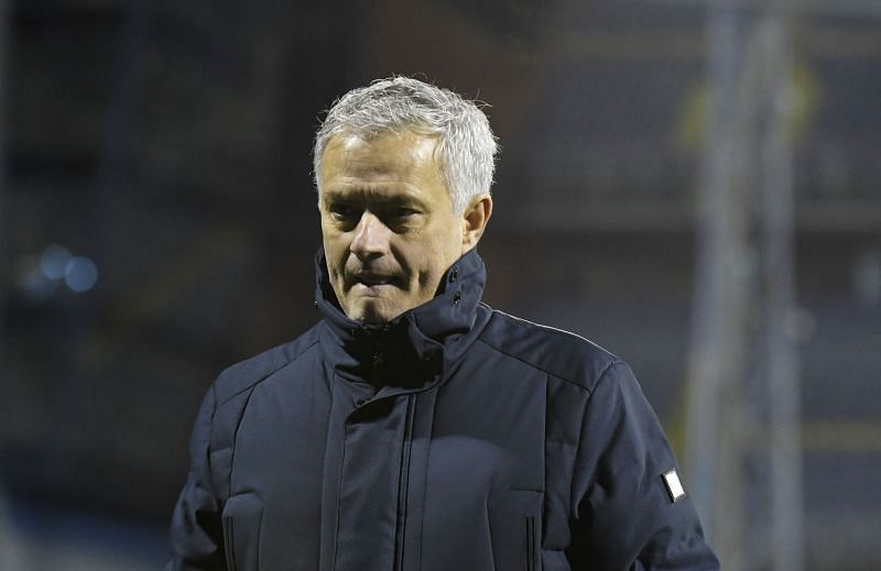 Jose Mourinho was sacked by Tottenham in April. (Photo by Jurij Kodrun/Getty Images)