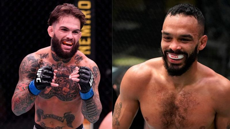 Cody Garbrandt (left) and Rob Font (right)