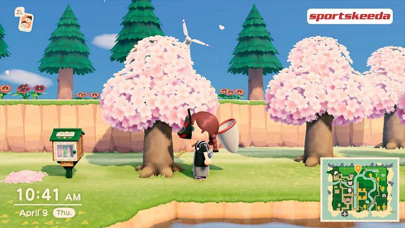 Update 1.10 hit the Animal Crossing islands just a couple of days back (Image via Sportskeeda)