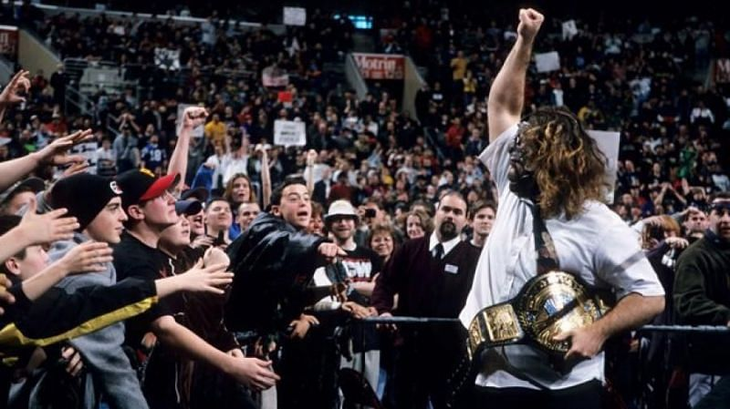 WWE RAW drew a 5.7 rating, while WCW Nitro drew a 5 rating