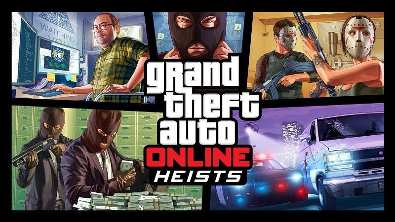 Five rookie mistakes to avoid during heists in GTA Online (Image via Rockstar Games)
