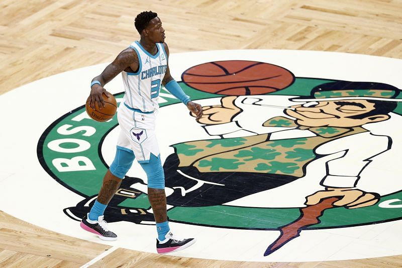 Terry Rozier of the Charlotte Hornets