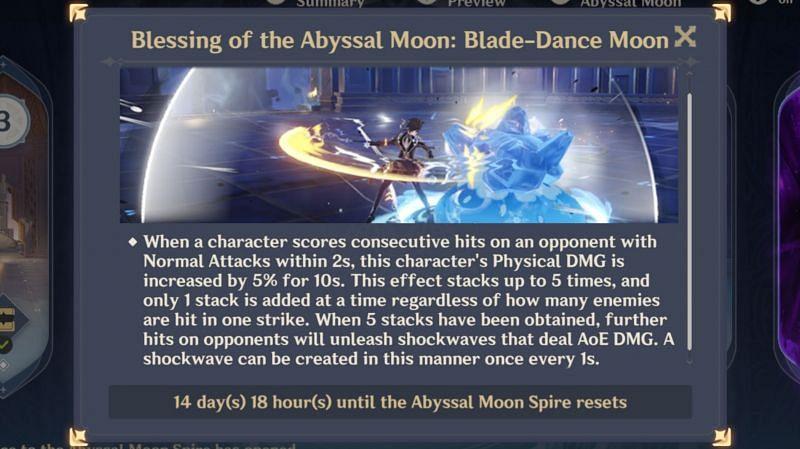 Genshin Impact 1.5 Spiral Abyss phase 1 buff