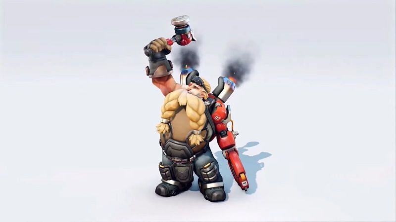 Torbjorn's new look (Image from Blizzard)