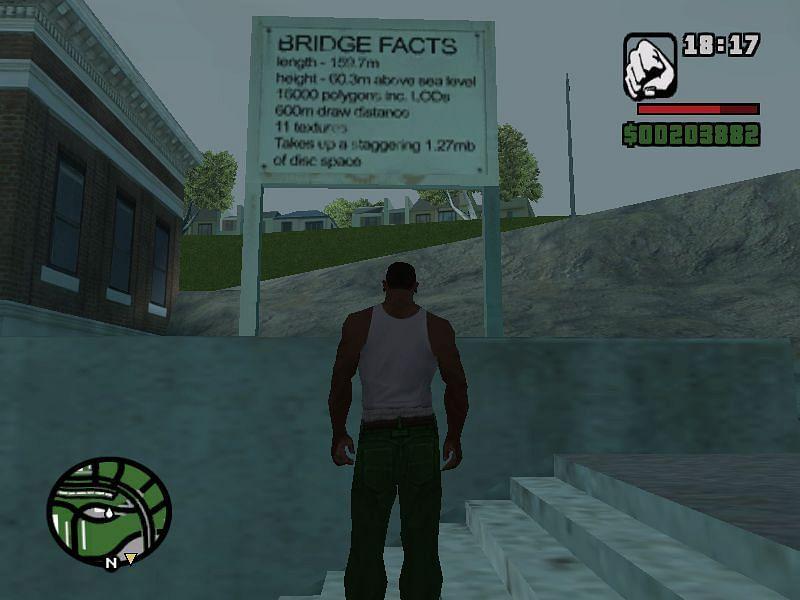 Gant Bridge facts (Image via GTA Wiki)