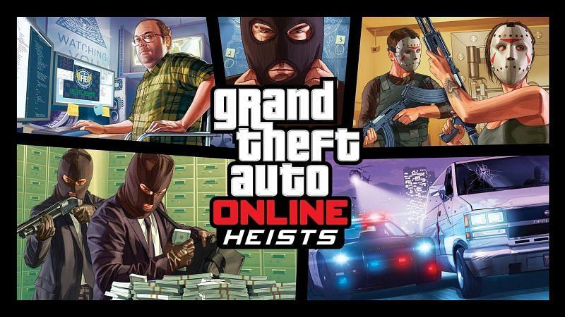 Unlocking every heist in GTA Online (Image via Rockstar Games)