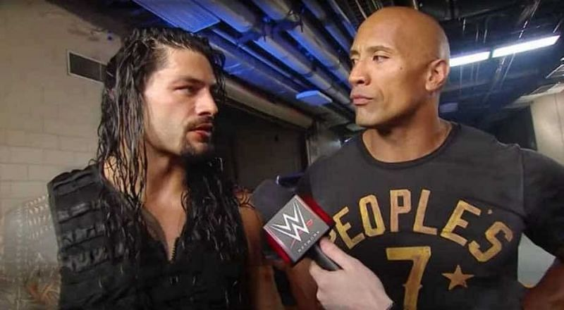The Rock helped Roman Reigns win the 2015 Royal Rumble