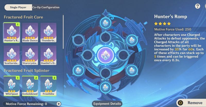 The Energy Amplifier comes with helpful buffs to assist players in the Twisted Realm