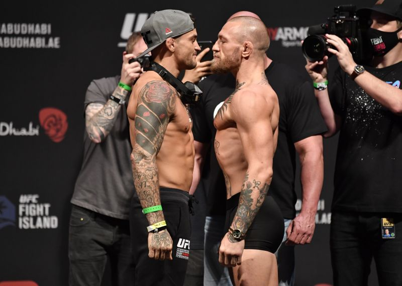 """""""I'm throwing real hooks here"""" – Dustin Poirier takes a shot at Conor McGregor over fishing comments"""