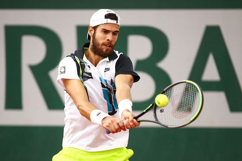 Karen Khachanov will look to take on the role of the aggressor in the match.