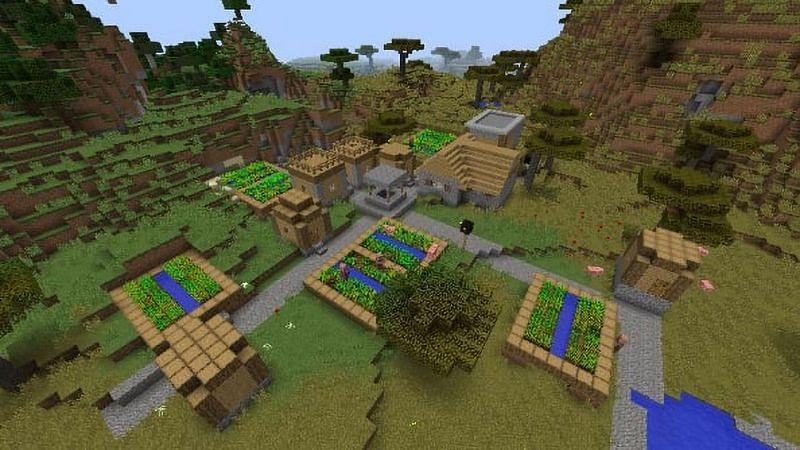Semi di Minecraft (immagine tramite pcgames)