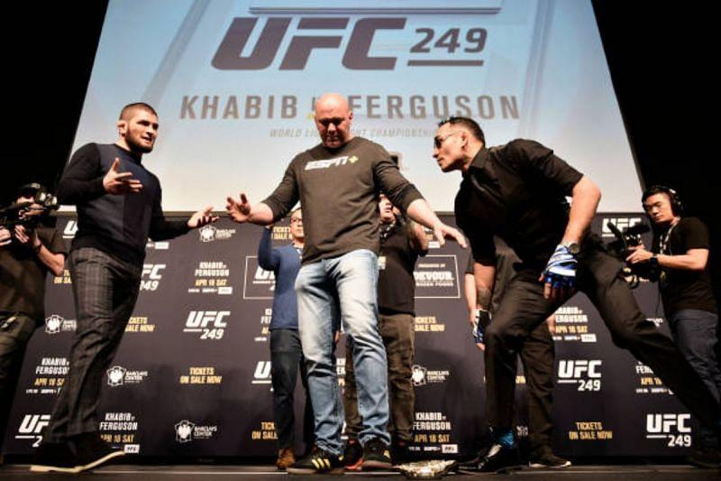 UFC 249 press conference