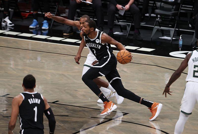 Milwaukee Bucks face the Brooklyn Nets next.