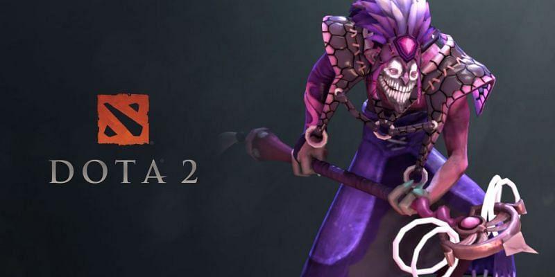 Dazzle, the Shadow priest. (Image via Valve)